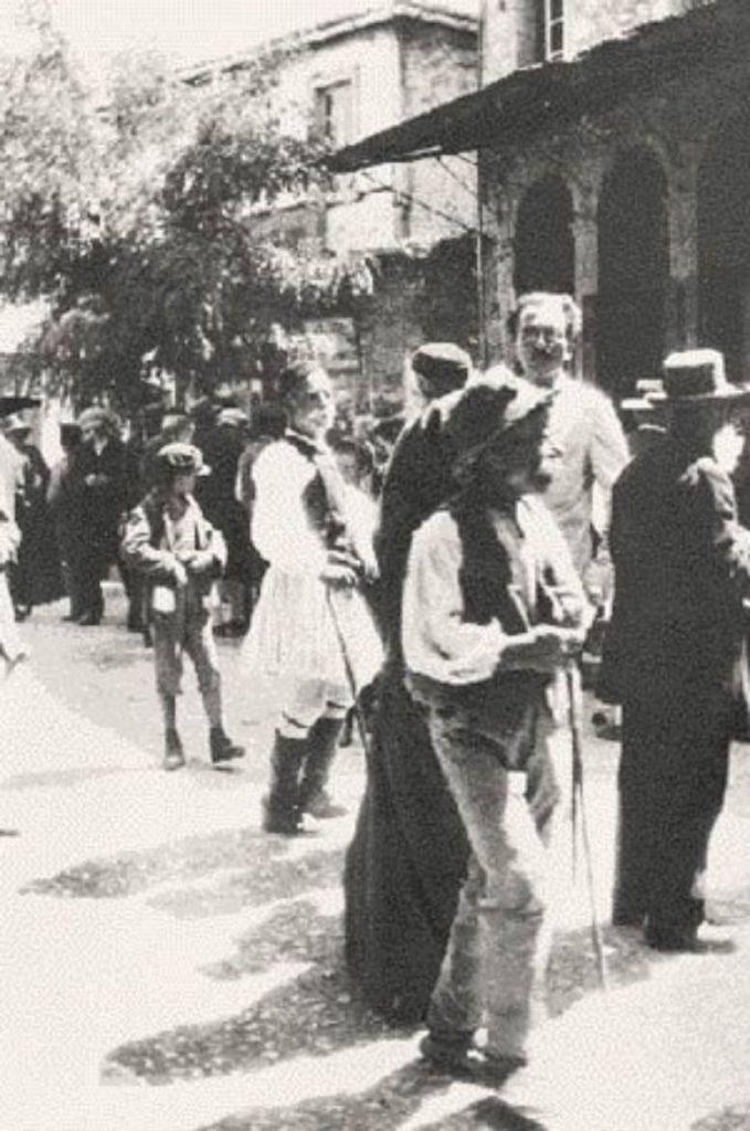 Ο Καζαντζάκης στο Άργος τον Ιούλιο του 1927
