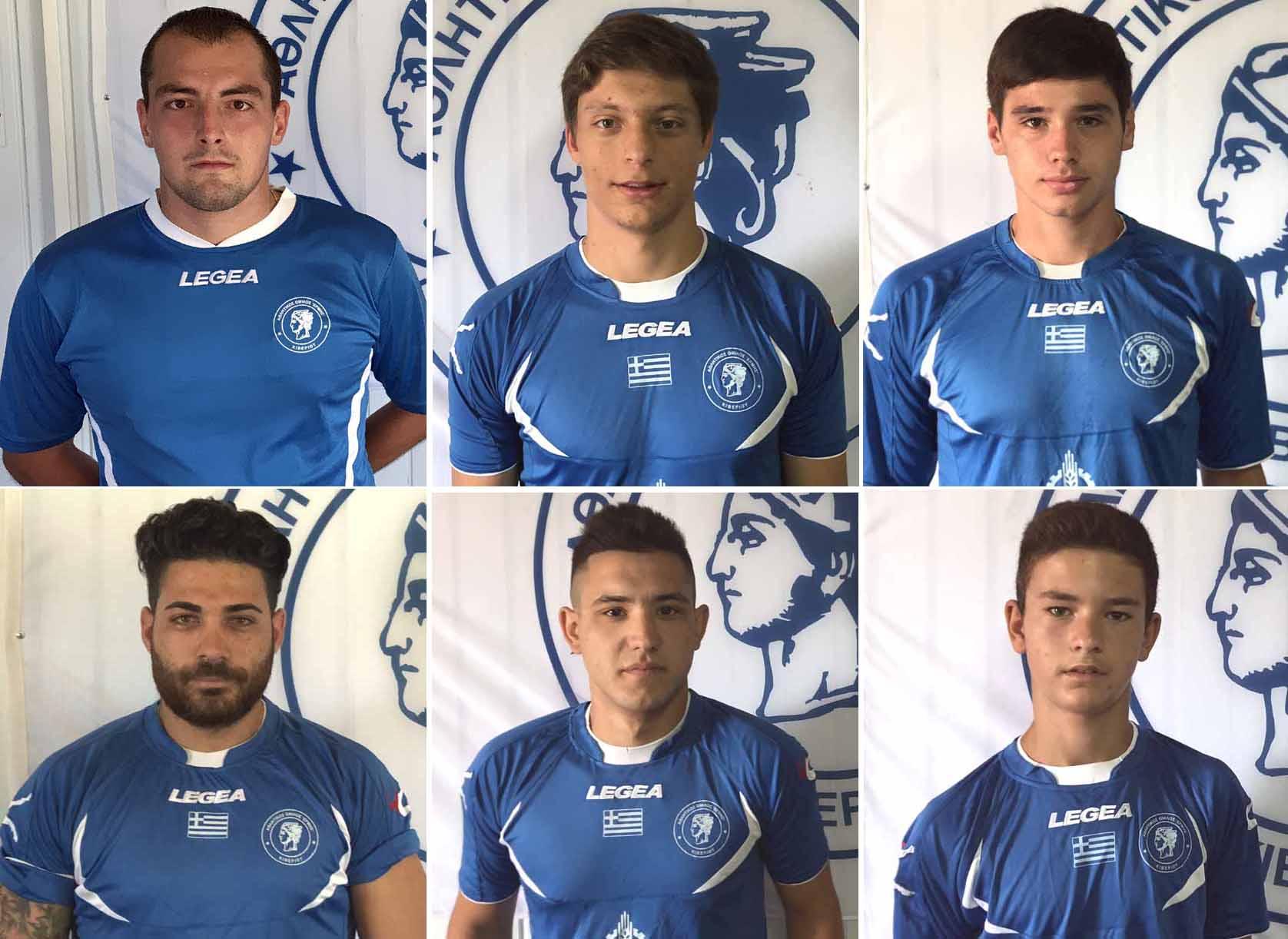 """6 Κιβεριώτες ποδοσφαιριστές επέστρεψαν στον Ερμή από την «Αργολίδα 2000"""""""